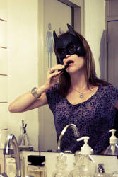 Bat Girl - Makeup by Aiae