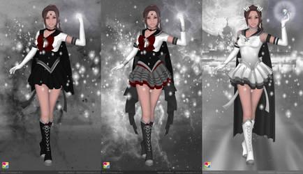 Sailor Aquila Redux by Lunakinesis