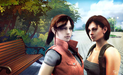 Jill and Claire [2] by claire-valentain2013