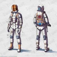 Spacesuit concept-art by orange-magik