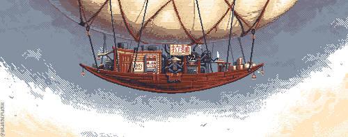 Ramen Airship by orange-magik