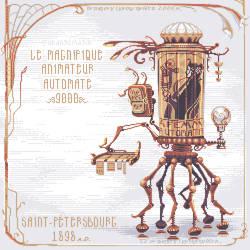 Le Magnifique Animateur Automate by orange-magik