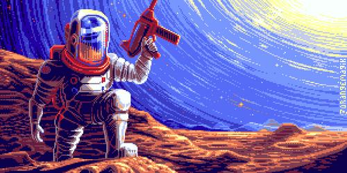 Astronaut by orange-magik