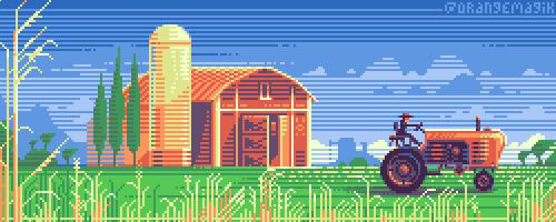 Just a Farm by orange-magik