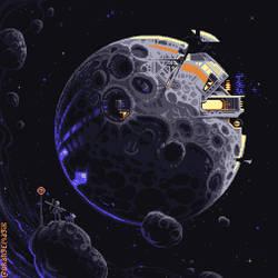 Moonbase by orange-magik