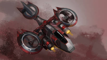 Weekly painting challenge - War machine by AlfAnce