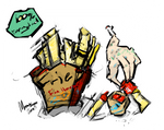Fun House : Fries? by Monseo