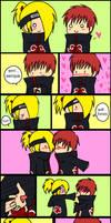 comic -the kiss- by V-a-L
