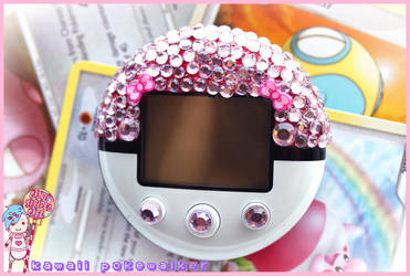 Kawaii Pink Pokewalker by CandyStripedCafe