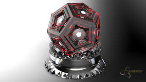 Dodecahedron Ruby by Bahr3DCG