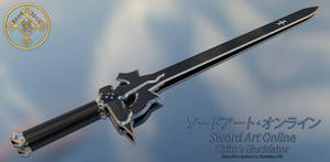 Sword Art Online: Kirito's Elucidator 01 by Bahr3DCG