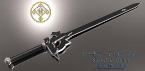 Sword Art Online: Kirito's Elucidator 02 by Bahr3DCG