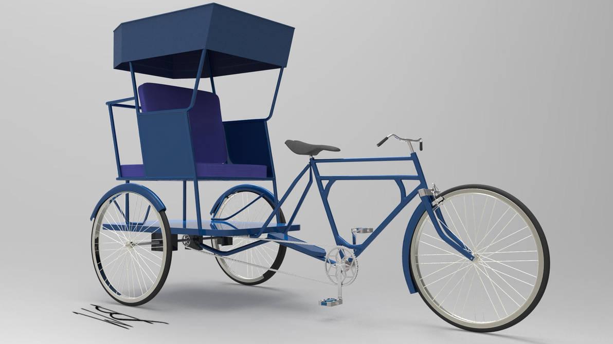 3D Rickshaw by Bahr3DCG