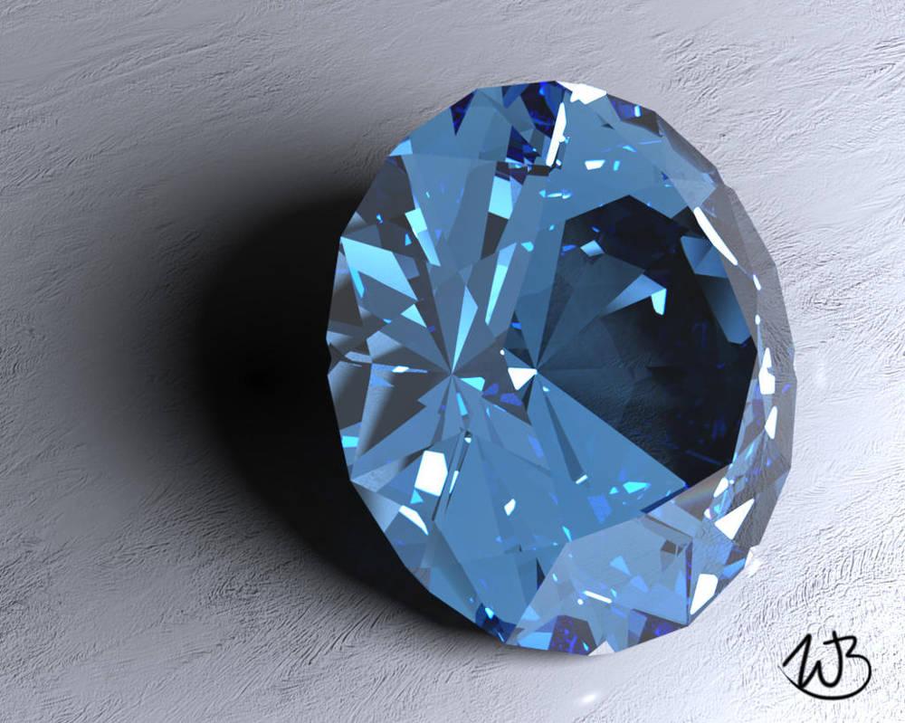 Caustic Series #5:  Sapphire by Bahr3DCG