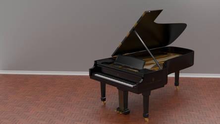 Steinway Grand Piano by Bahr3DCG