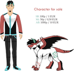 Character for sale [Open] by Midnea