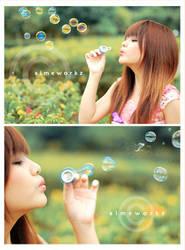 ..go bubbly.. by aimeworkz