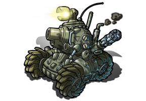 The Metal Slug SV-001 by alexsanlyra