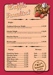 Waffle Paradise 01 by alexsanlyra