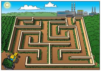 Odebrecht Agro - Dia das Crianca - Labirinto by alexsanlyra
