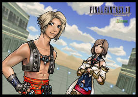 FF XII - Vaan and Ashe by alexsanlyra