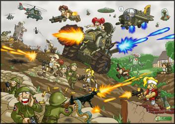 Metal Slug Mayhem by alexsanlyra