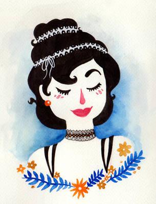 Blushing Beauty by Lumosita