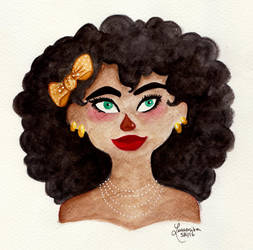 Golden Bow by Lumosita