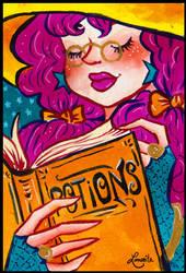 Witches portraits #5 - Rosie by Lumosita