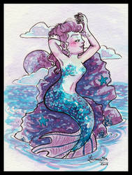 Mermaidy to the (fish)bone by Lumosita