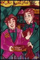 The New Weasley's Wizard Wheezes by Lumosita