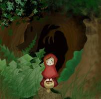 Little Red Riding Hood by Lumosita