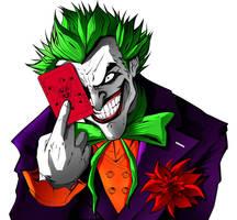 The joker by richrow