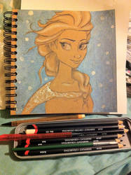 Elsa by DaliteDraws
