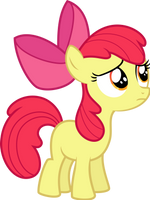 Kinda worried Apple Bloom by Givralix