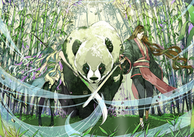 CC:Guardians of Bamboo Forest by Qsan90