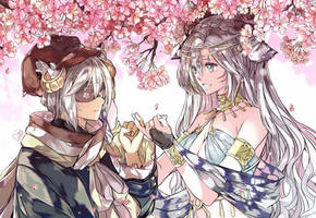 YCHC: Promise Under Cherryblossoms by Qsan90