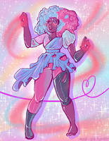 Steven Universe: Garnet, first time for us by Mad--Pie