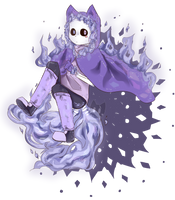 The purple Fox [Fusion] by MinaSorano