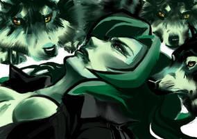 sniper wolfs death by Wonder-Bun