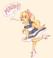 Peachy! by Wonder-Bun