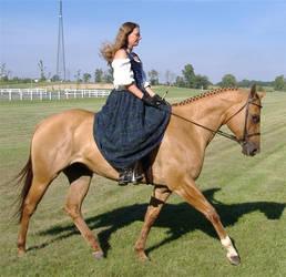 Blackwatch on Horseback 2 by MistressKristin