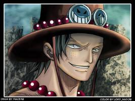 Ace Portgas : shirohige pirate by Lord-Nadjib