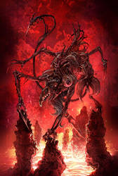 Hellish Beast by chuckwadey