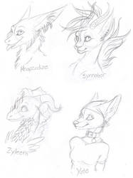 Christmas Gifts 6 - Sketches by kcravenyote