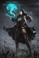 Sorceress by angel5art