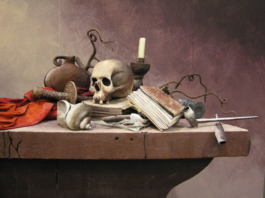 Vanitas 3D Sculpture Rendition by Groovy-Guy