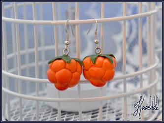 Cloudberry earrings by Seatear