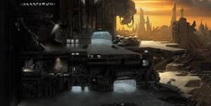 Argantus City Closeup A by Jacklionheart