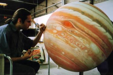 Jupiter model matte painting by Jacklionheart